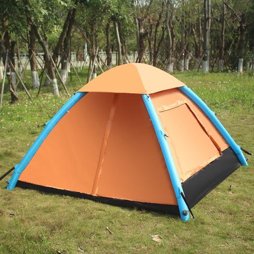 Tenda Inflatable mini dengan frame menggunakan udara
