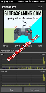 Latest 9mobile NG Free Browsing Tweak Via Psiphon Pro VPN