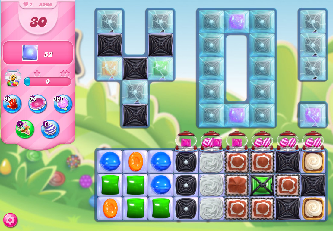 Candy Crush Saga level 5066