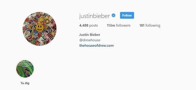 Instagram Justin Bieber dan Fakta Menariknya - sudah tahu?