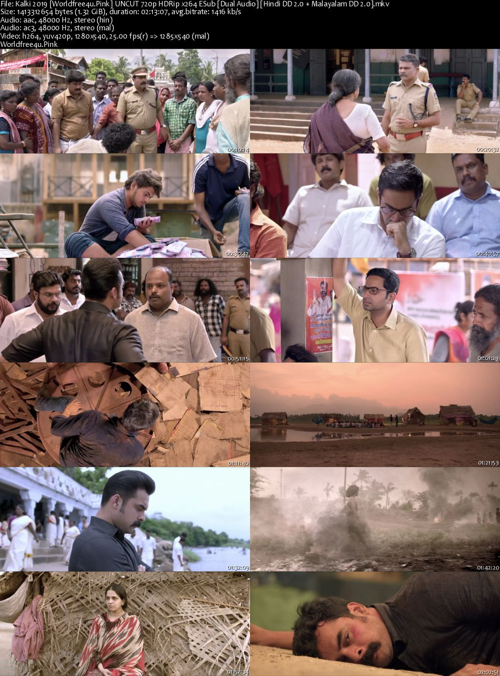 Kalki 2019 Hindi Dubbed HDRip 720p