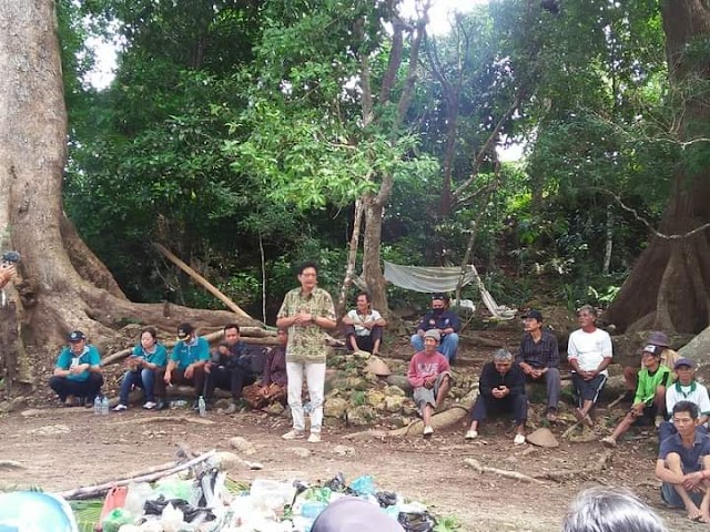 Tradisi Rasulan Gunung Batur Watu Suweng Masih Lestari Dimasa Pandemi