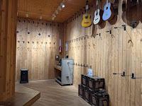 Guitar Center acoustic guitar room