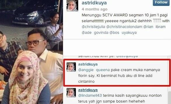 Testimoni Astrid Kuya Florin Skin Care