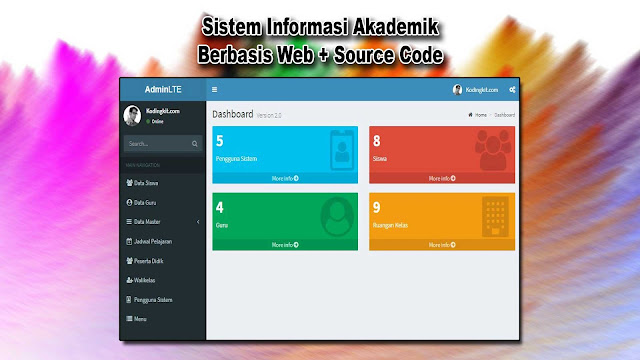 Download Source Code Sistem Informasi Akademik Berbasis Web Gratis