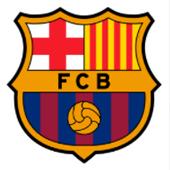 Oblea para tartas Escudo Barça