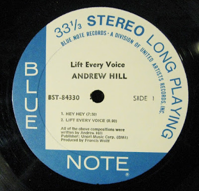 Andrew Hill Lift Every Voice Record Label