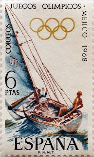 XIX JUEGOS OLÍMPICOS MÉXICO 1968. VELA