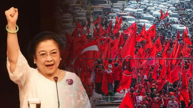Bendera Dibakar, PDIP Minta Kader Tunggu Komando Pimpinan