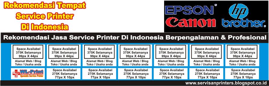 Rekomendasi Tempat Service Printer Di Indonesia | Layanan Service Panggilan WA. 0819.0402.3626