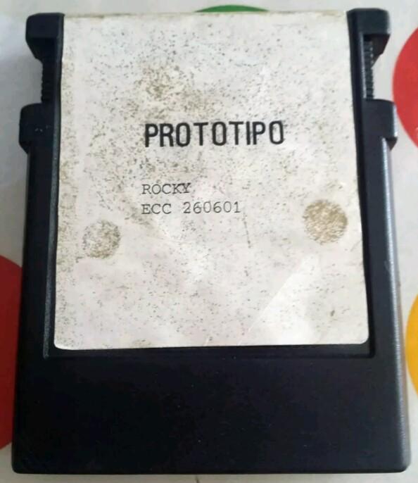 Prototipo Rocky ColecoVision