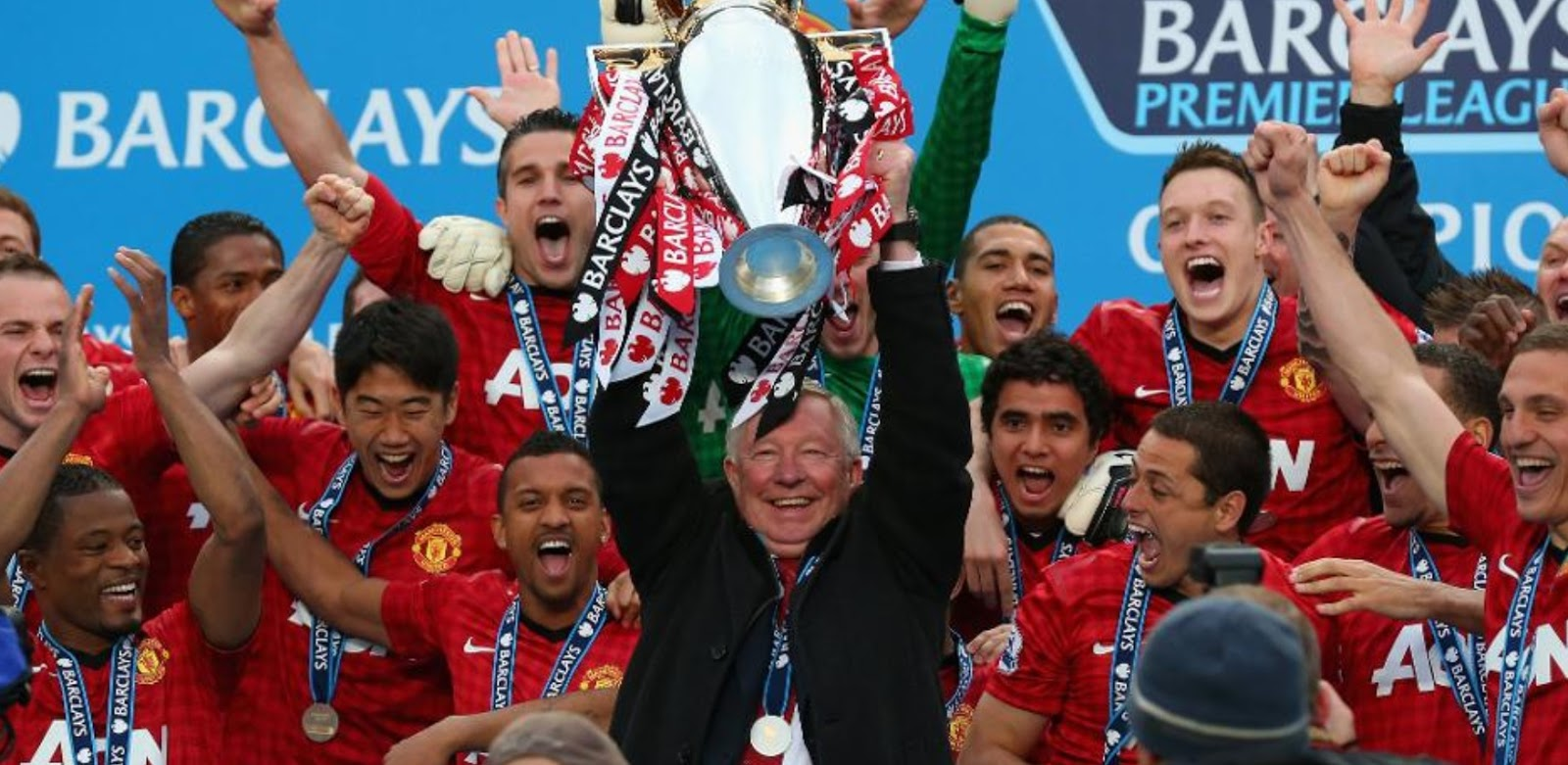 Manchester United EPL Champions 13 times in history