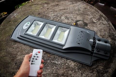 Penggunaan Lampu Solar Salah Satu Cara Penjimatan yang Bijak