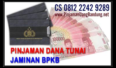 Dana Tunai Jaminan BPKB Motor / Gadai BPKB Motor di Bandung Tanpa Survey