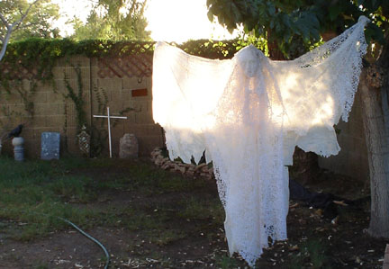 Ghost Hunting Theories: Halloween Party Props - Cheap and Easy!