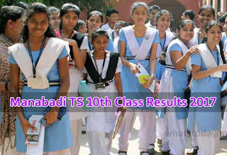Manabadi.com SSC Results 2017, TS 10th Class Results 2017