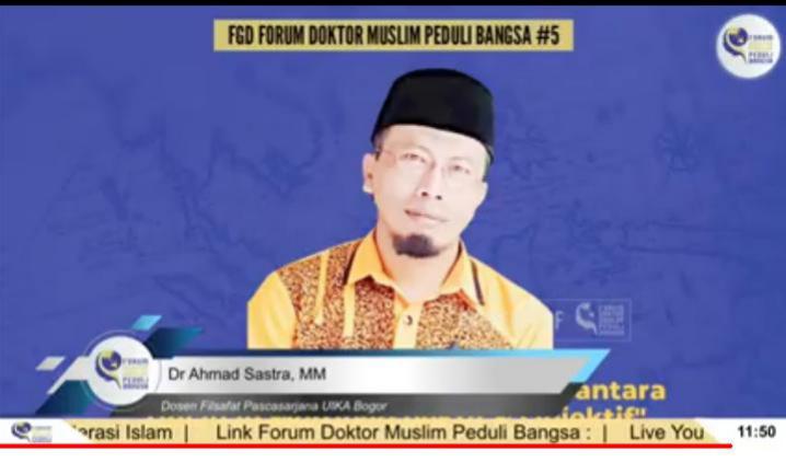 Dosen Filsafat Beri Penjelasan Menohok Bantah Samakan Indonesia dengan Khilafah