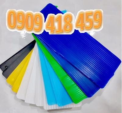 Tấm nhựa pp 3mm