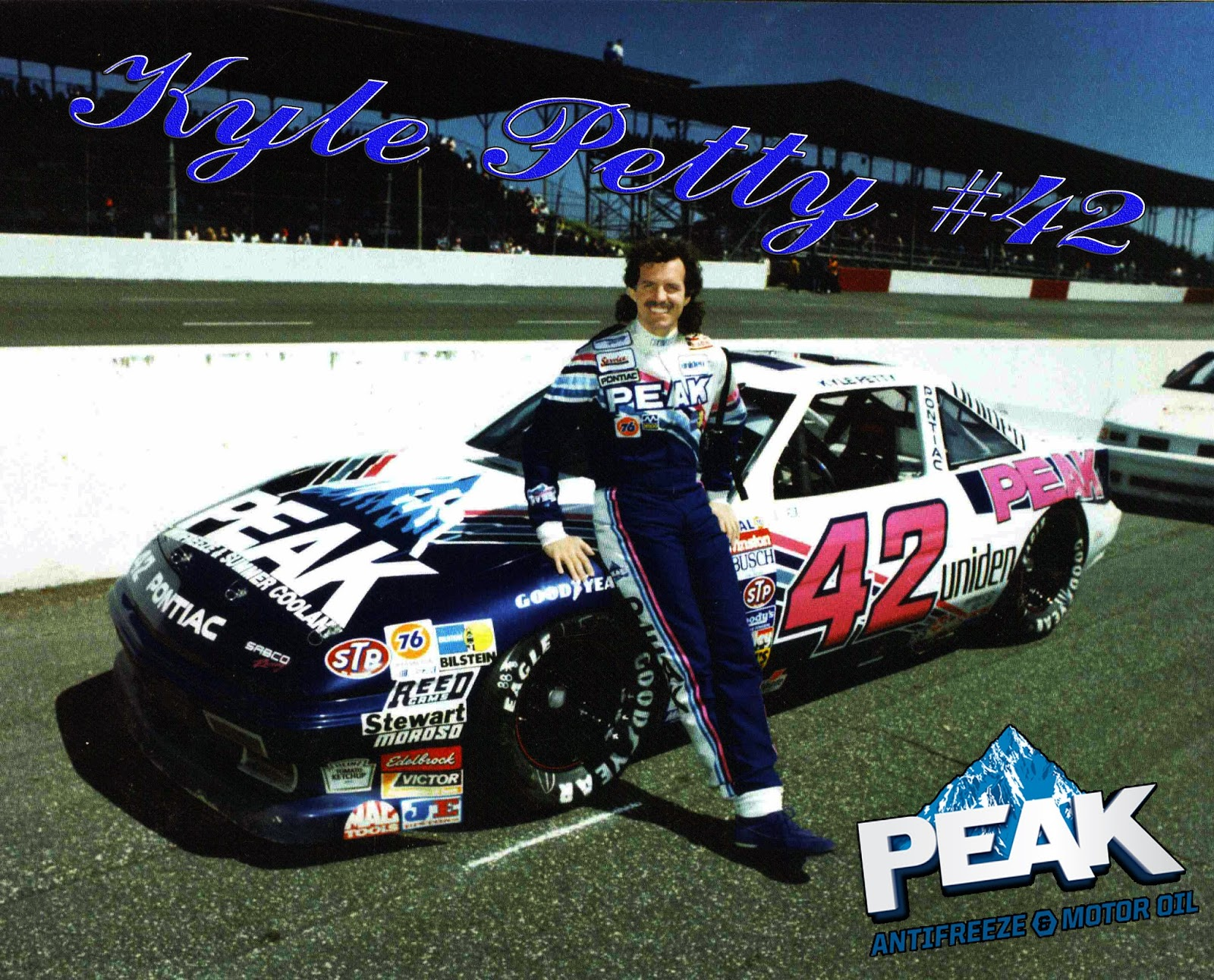 NASCAR Racing Champions Blog Kyle Petty 42 Peak Antifreeze