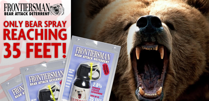 Bear Protection With Frontiersman Bear Spray: 301 Moved Permanently