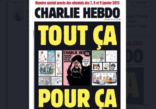 Attentat de Charlie Hebdo : mercredi, premier jour du procès, le journal republie les caricatures de Mahomet