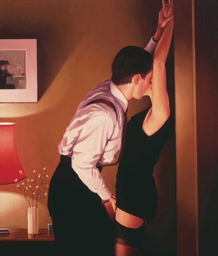 Em Jogo - Jack Vettriano e suas pinturas cheias de encontros íntimos