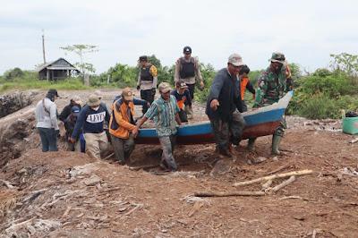 Polda Jambi Patroli Skala Besar Untuk Cegah Karhutla di Hutan Produksi Terbatas di Muarajambi