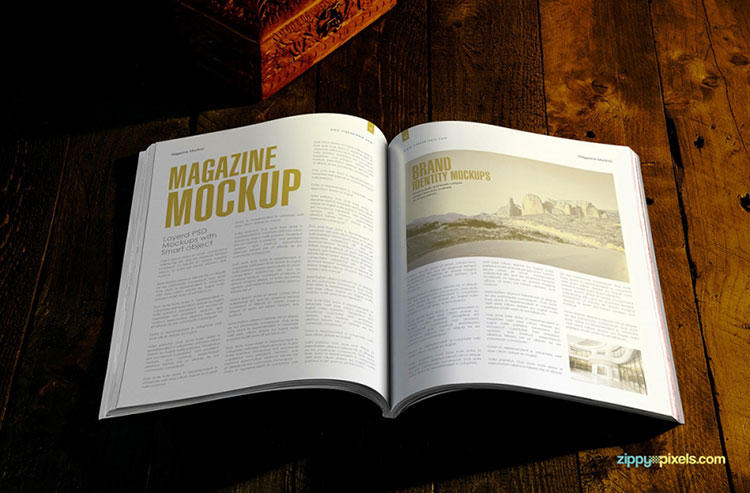 2 Free Magazine Mock-Ups