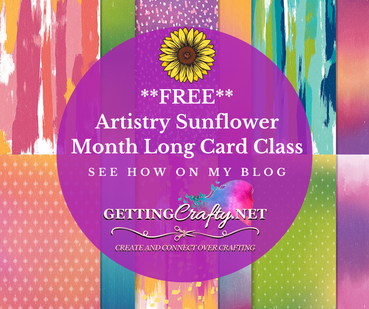 Artistry Sunflower Month Long Class