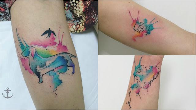 Perfis de tatuadores
