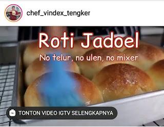 Resep Roti Jadoel