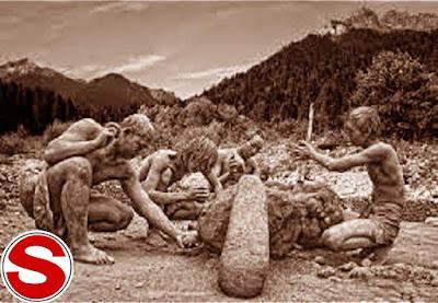 Gambar ilustrasi Zaman Batu