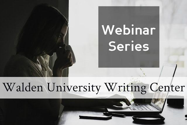 Walden University Writing Center webinar series