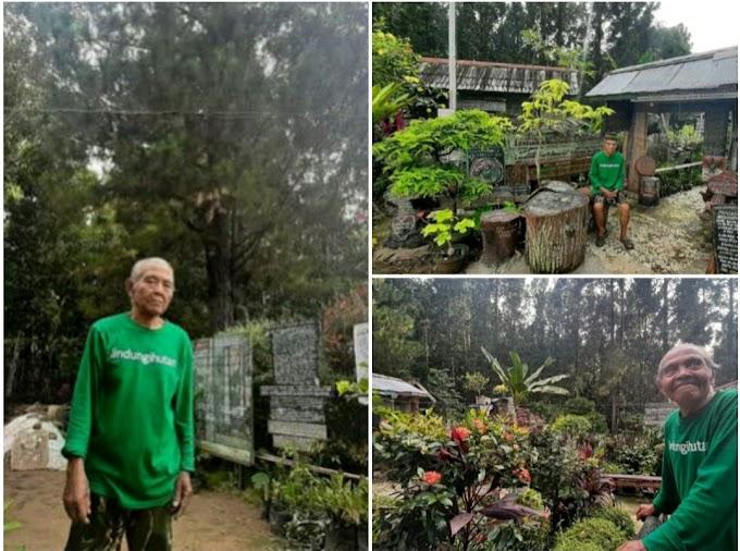 Kakek Ini Tolak Duit 10 M, Hanya Karena Hutan Seluas 1.5 Hektar