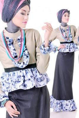model baju batik muslim remaja terbaru