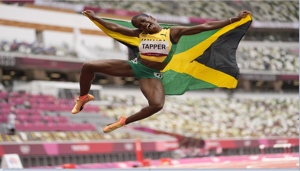 Megan Tapper; Olympic Bronze Medallist