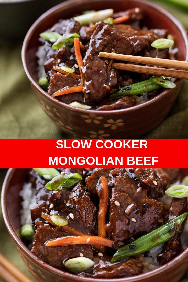Best Easy Slow Cooker Mongolian Beef Recipe