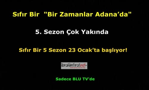Sıfır Bir Bir Zamanlar Adanada 5 Sezon 1 Bölüm 2019