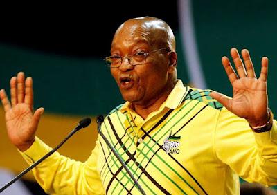 Jacob Zuma, Presiden Afrika Selatan.