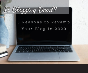 is blogging still relevant