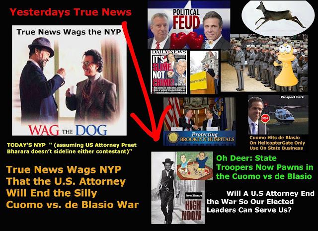 True News (The Bund): War: de Blasio vs Cuomo #835