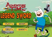 Adventure Time Legend Sword