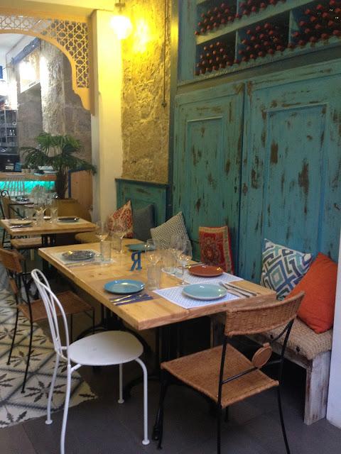 rustic+restaurant+design+aqua
