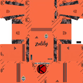 Seattle Sounders FC 2020 Kit - Dream League Soccer Kits