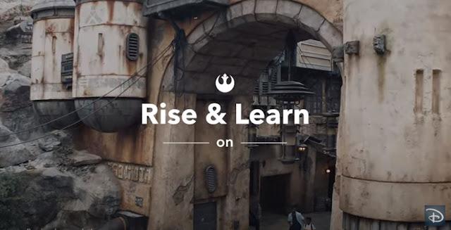 #DisneyMagicMoments, Disney, Ride & Learn:在家登上 Star Wars: Rise of the Resistance 了解有趣知識