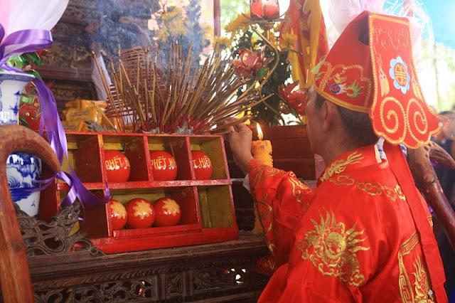 Phet Hien Quan festival in Phu Tho province 1