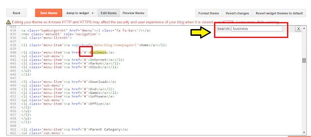 Edit html mengganti template blogger
