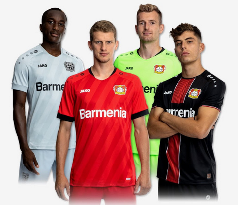 maglie calcio poco prezzo 2020: Nuova maglia Bayer 04 Leverkusen 2020