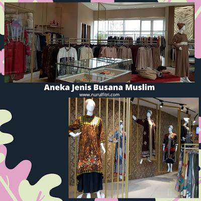 Aneka Jenis Pakaian Muslim di Alisha Bandung