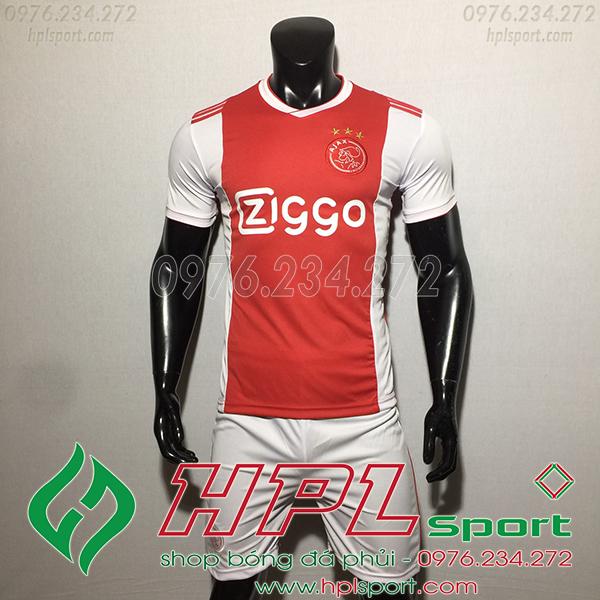 Áo bóng đá câu lạc bộ Ajax đỏ 2020